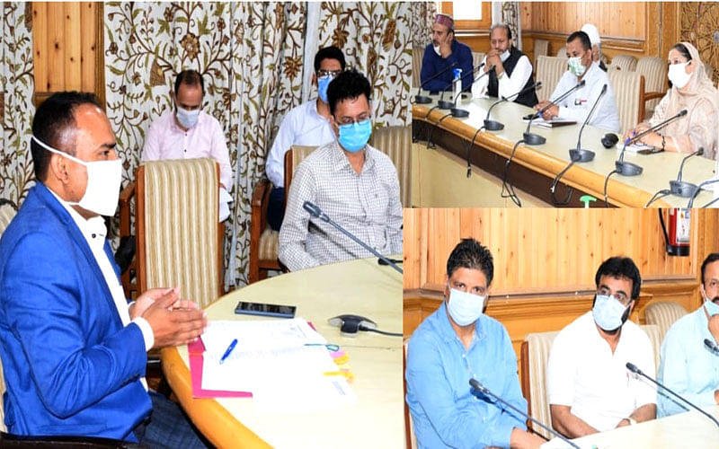 Div Com convenes meeting for renaming of govt institutions, infrastructure
