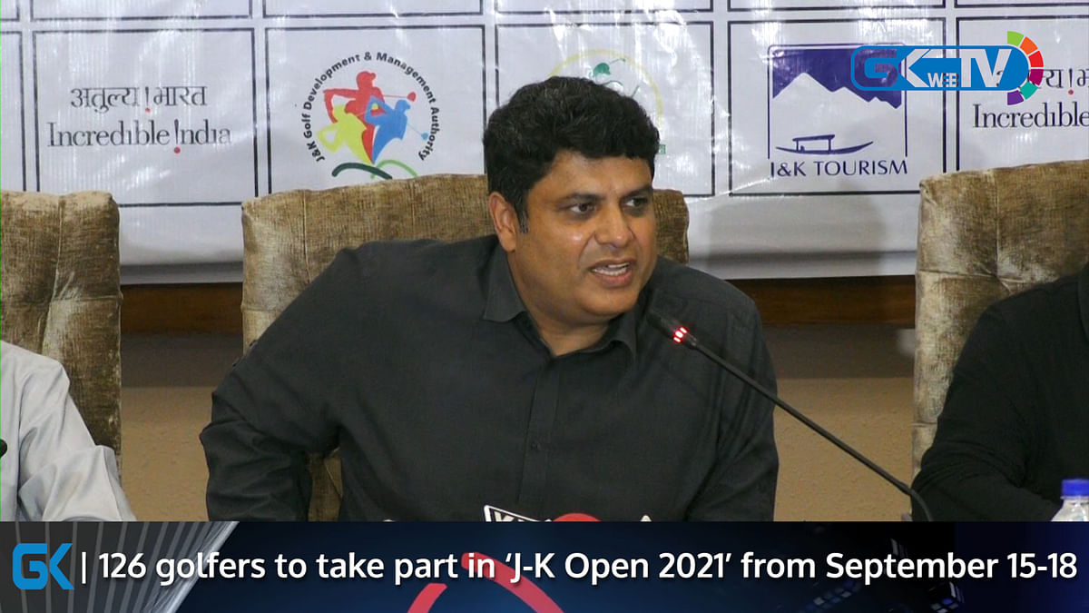 126 golfers to take part in 'J-K Open 2021' from September 15-18