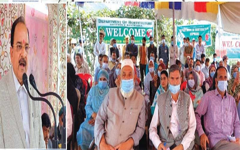 Union Minister of State for Defence, Tourism visits Kupwara
