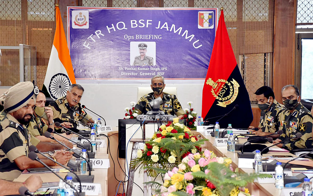 DG BSF arrives on 2-day visit to Jammu