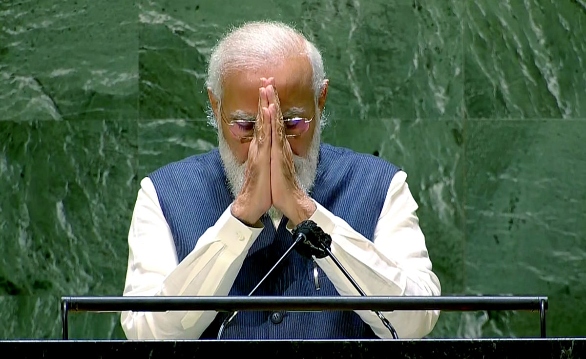 76th UN General Assembly Session| World is facing increased threat of extremism: PM Modi