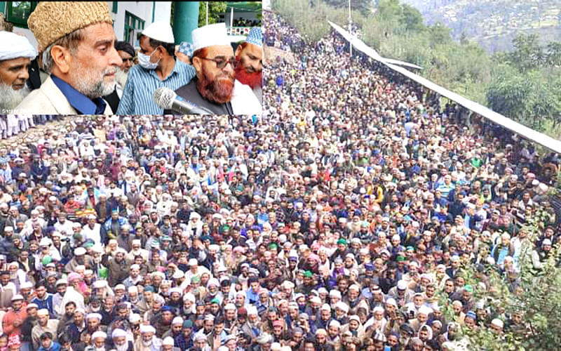 Thousands attend Mian Bashir's Chehlum at Baba Nagri