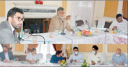 Union MoS reviews functioning of Jal Shakti Department, FPI