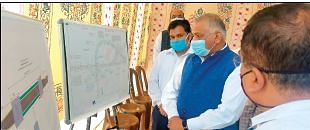 Union MoS MoRTH concludes 3-day Anantnag visit