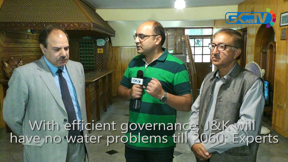 With efficient governance, J&K will have no water problems till 2060: Experts
