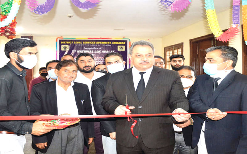 Over 12000 cases settled amicably in Srinagar LokAdalat