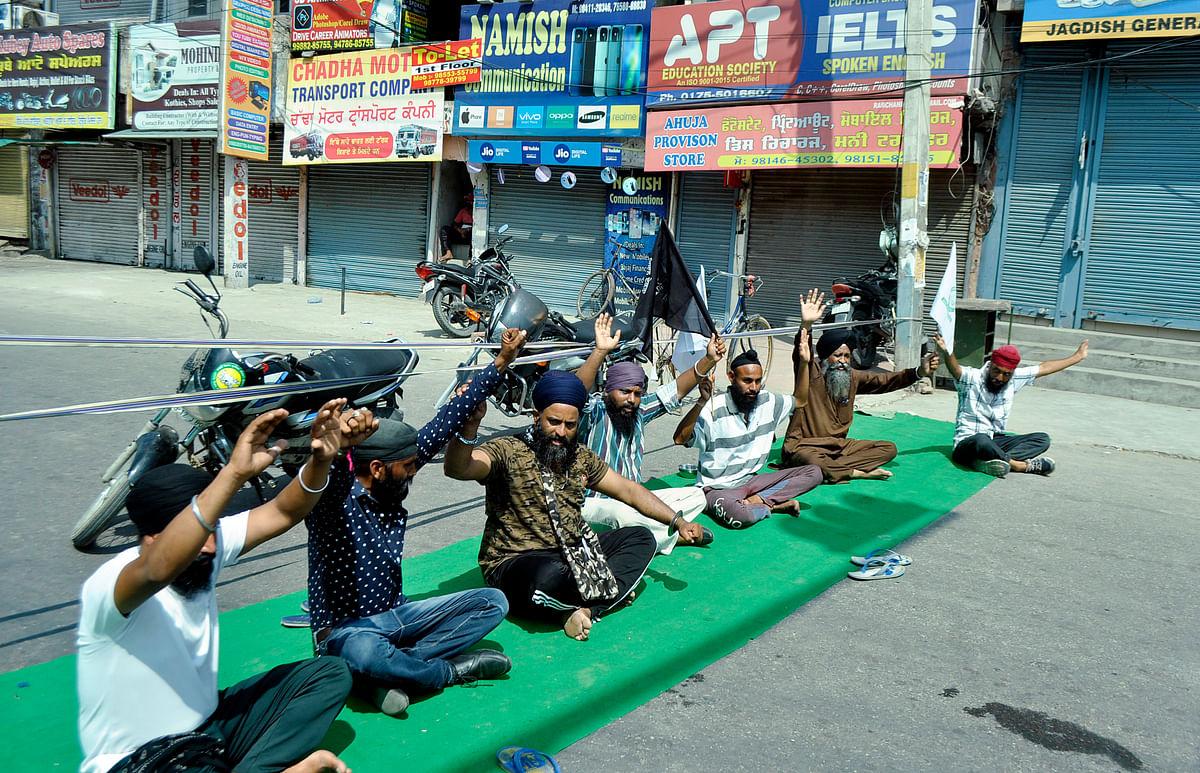 J&K Kissan Tehreek joins 'Bharat Bandh' call
