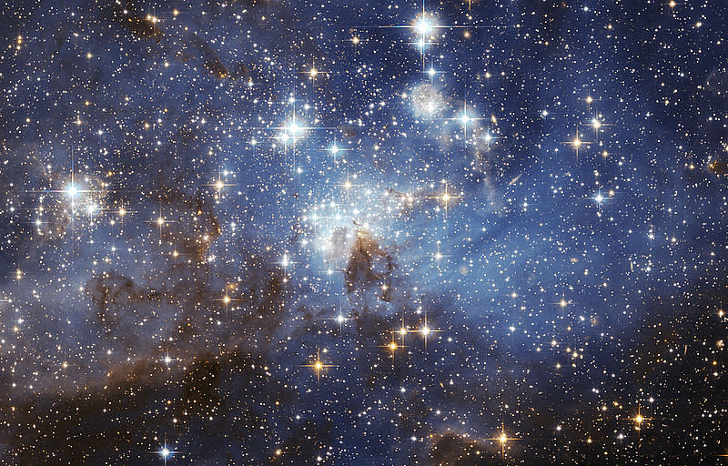 Setting of stars in the universe