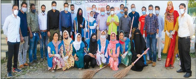Swachh Bharat Abhiyan| CUK holds cleanliness drive