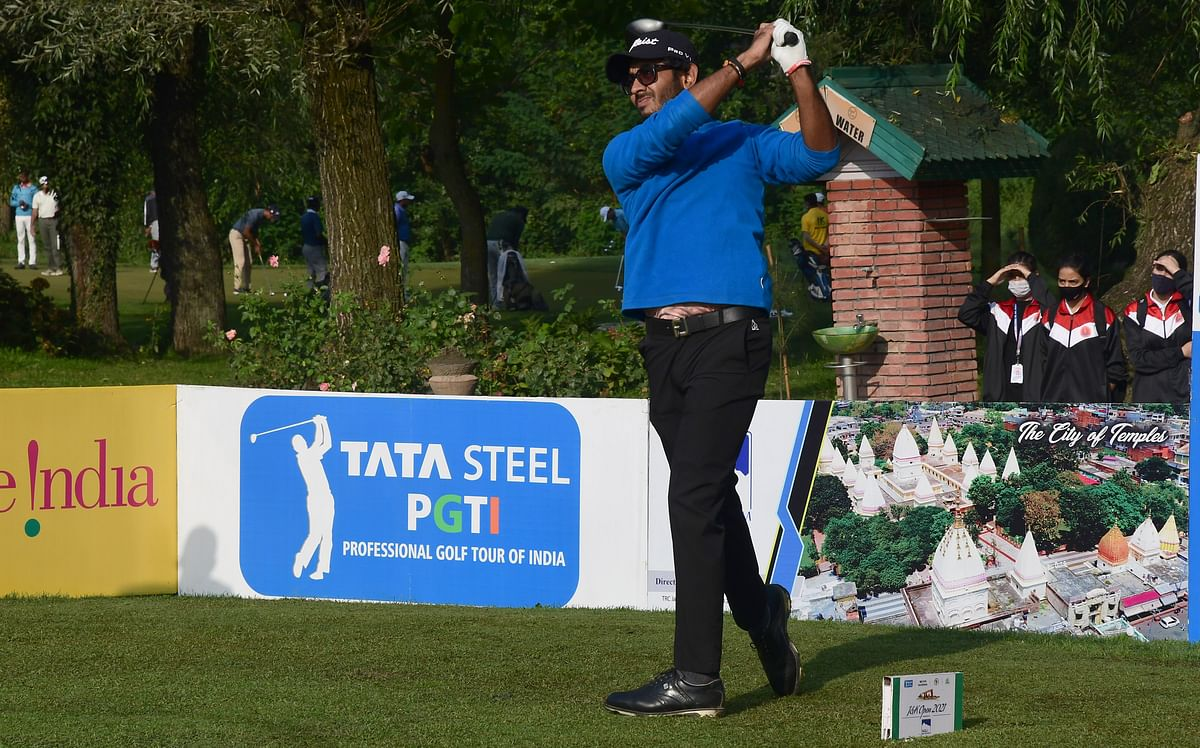 The visiting golfers have been all praises for Kashmir, especially its climate.