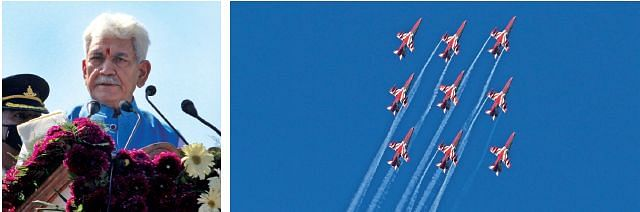 IAF's Air Show| Give wings to your dreams: LG to J&K youth