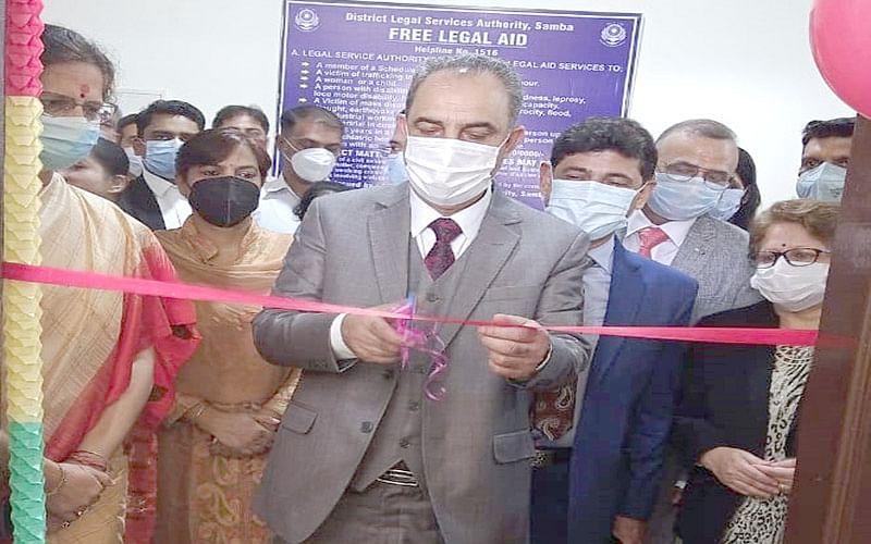Justice Magrey inaugurates Vidhik Seva Kendra at Samba