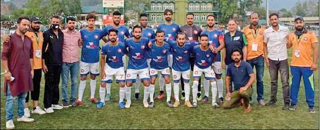 2ND DIVISION I-LEAGUE  Hyderya Sports FC set to represent J&K in Bengaluru