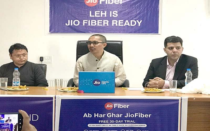 Jio launches Fiber broadband services in Leh