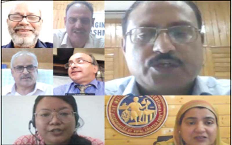 Director NIT Srinagar inaugurates webinar on engineers' day