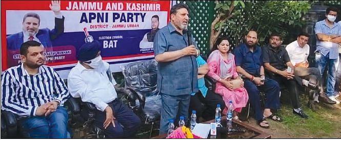 Will restore Darbar Move if Apni Party comes to power: Altaf Bukhari
