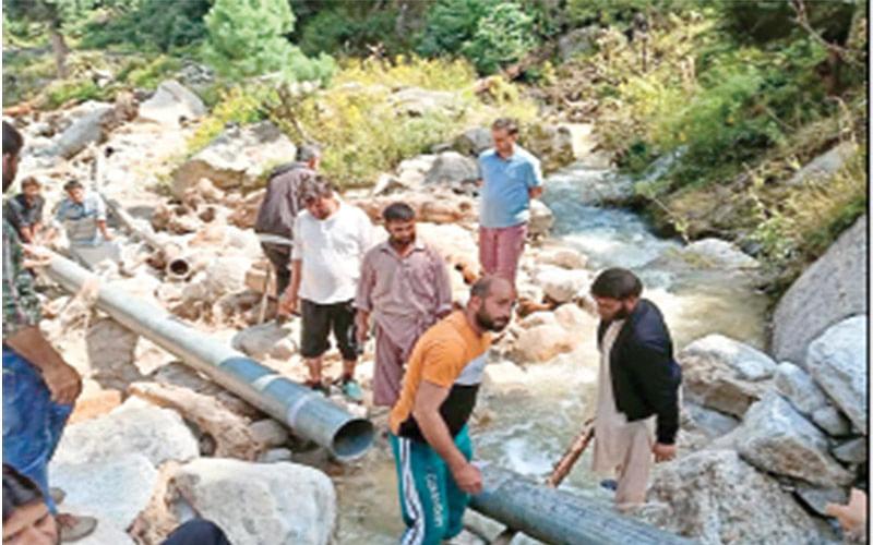 Cloudburst In Rafiabad|12 water supply schemes damaged