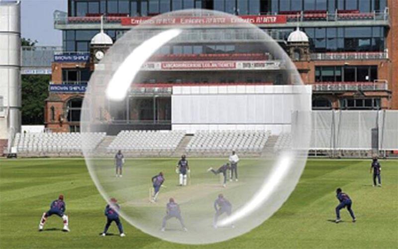 Bio-Bubble: Space and Sports