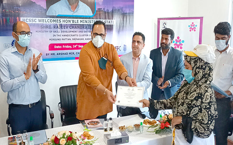 Govt keen to promote handicraft industry: MoS Skill Development