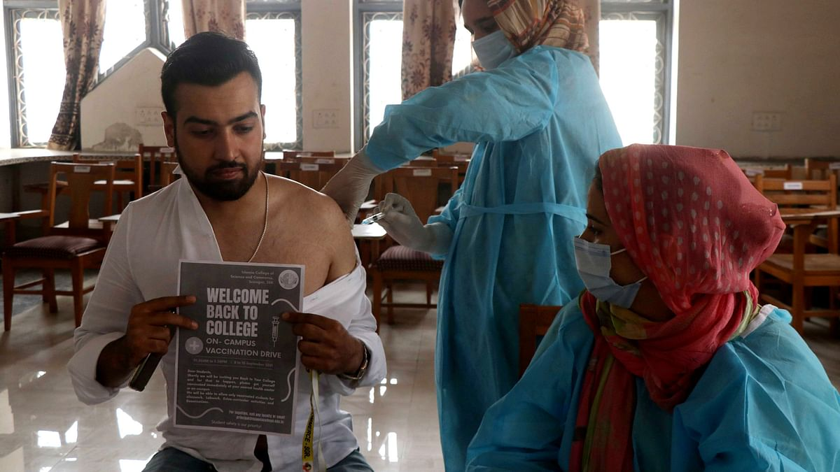 Degree colleges in J&K to reopen for vaccinated students, staff