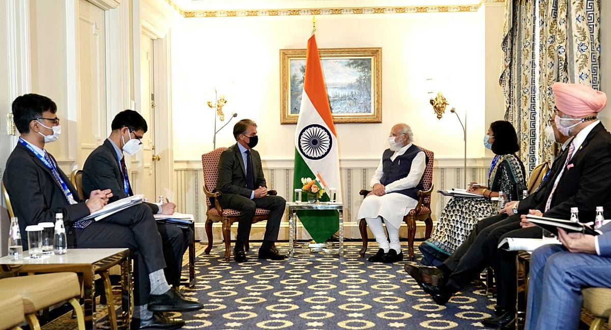 PM Modi discusses India's renewable energy landscape with US-based solar panel manufacturer