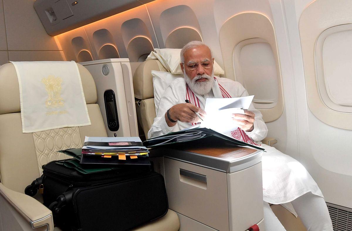 PM Modi's plane flies over Pakistan airspace en route to US