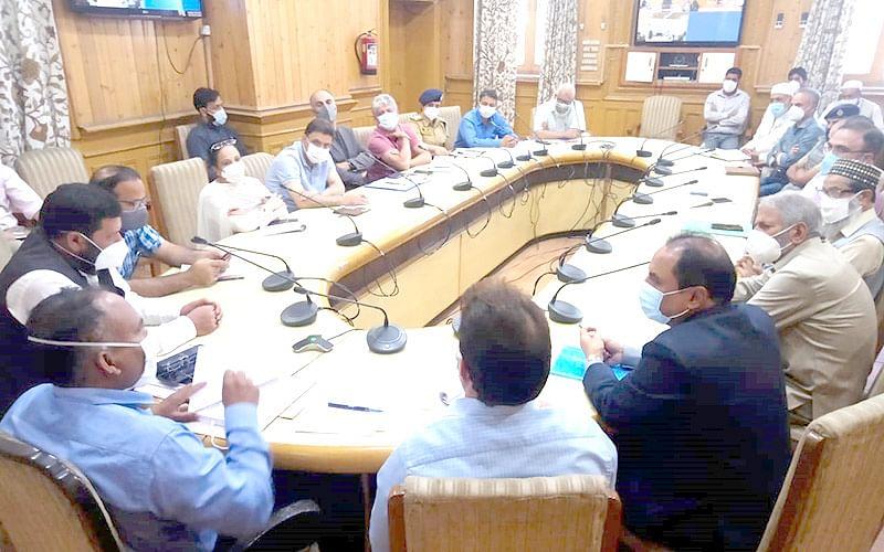 Div Com reviews arrangements for Eid Miladun Nabi (SAW)
