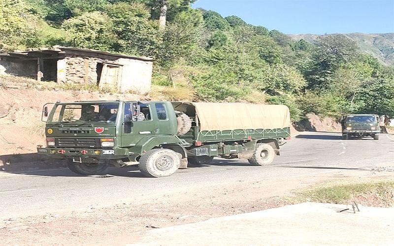 Mendhar encounter enters day 2 amid intermittent firing