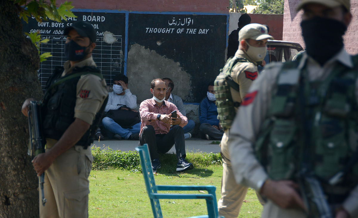 School principal, teacher shot dead in Srinagar