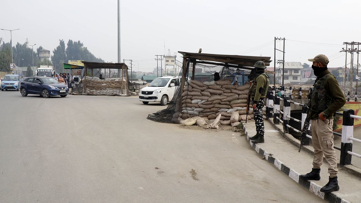 Security beefed up across Kashmir ahead of HM Amit Shah's visit
