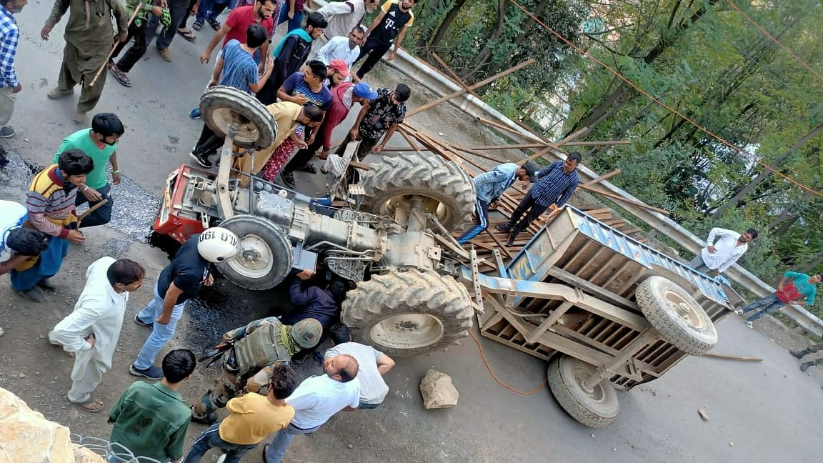 Two killed, another injured in separate road accidents in J&K's Ramban
