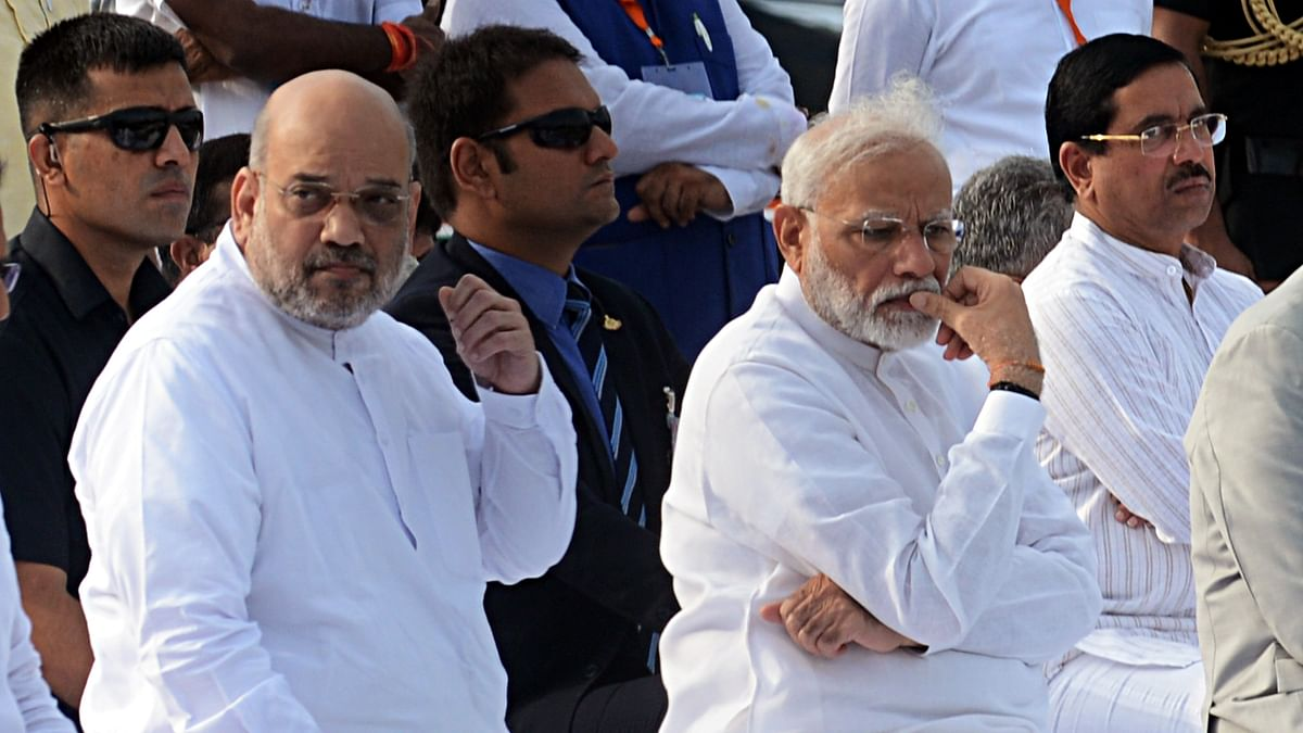 Amit Shah meets PM Modi, discusses security situation in Kashmir