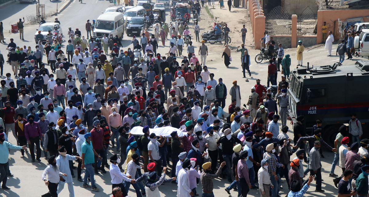 Supinder Kour cremated amid peaceful protest
