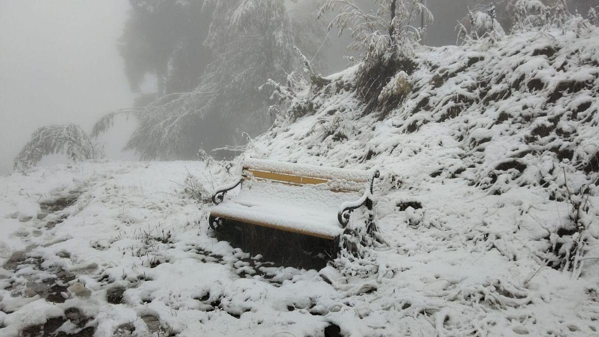 J&K: Fresh snowfall in higher reaches, rain in plains