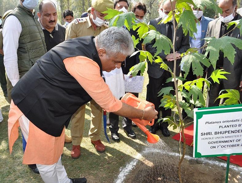 Union Minister Yadav inaugurates workshop on Forests, Biodiversity