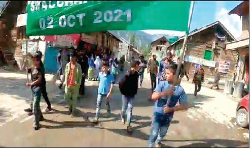 As part of Swachh Bharat Abhiyan, cleanliness drive held in Dawar, Gurez