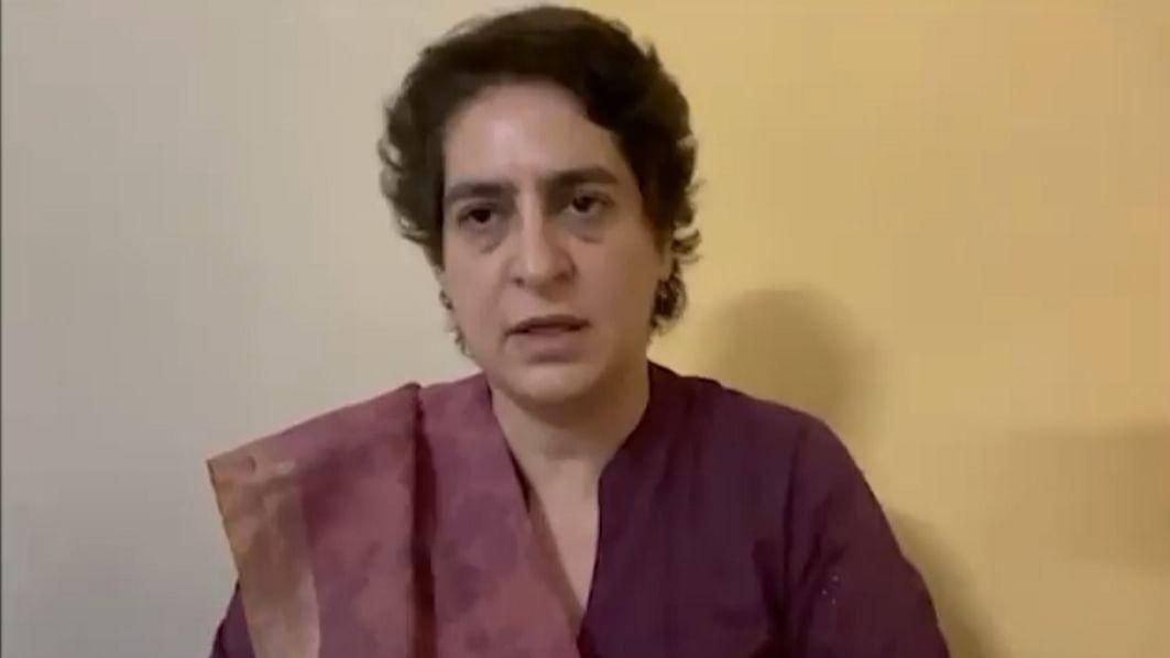 Lakhimpur violence: Priyanka says kept in detention for last 28 hrs without order or FIR