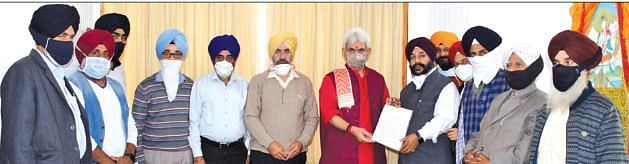 Enemies of humanity won't be spared: LG to Sikh delegation