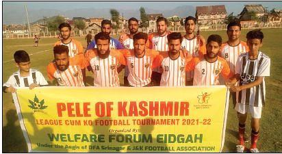 PELE OF KASHMIR TOURNAMENT| Old City FC, Hamdaniya FC play goalless draw