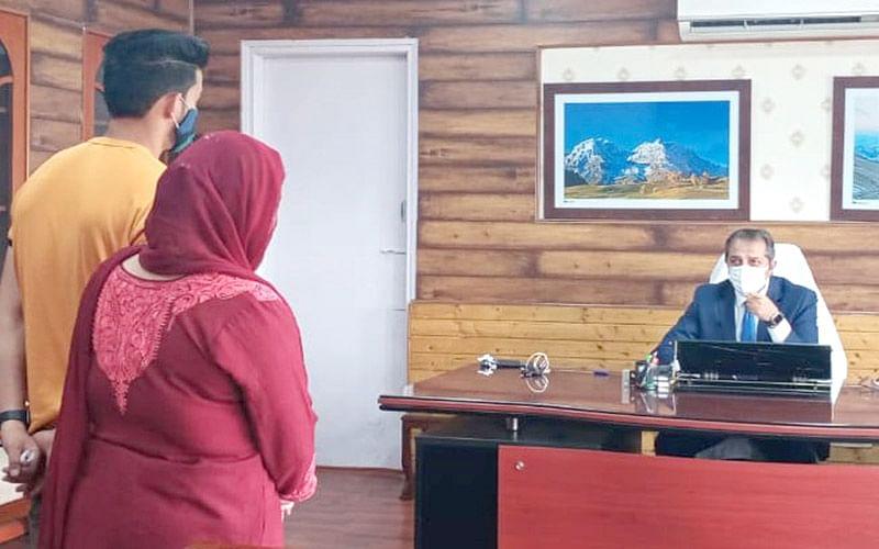 Deputations, individuals call on Advisor Baseer Khan
