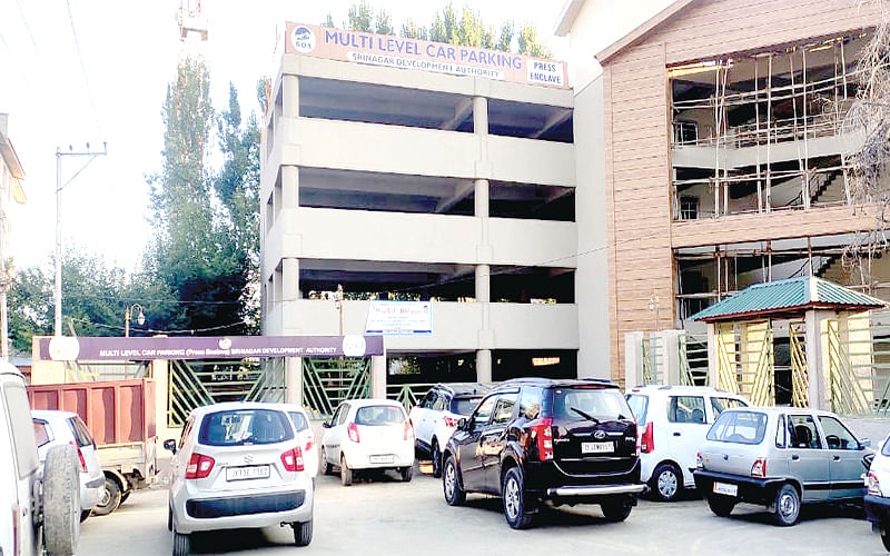 Delay in inauguration of SDA's multi-level car parking takes toll on motorists