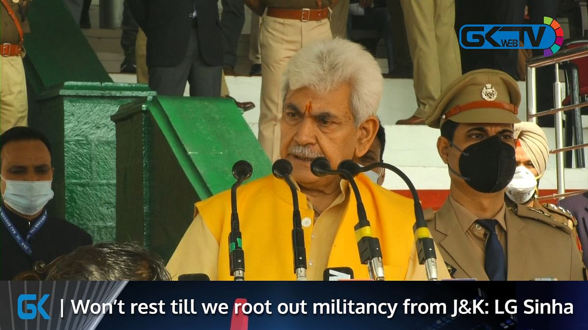 Won't rest till we root out militancy from J&K: LG Sinha