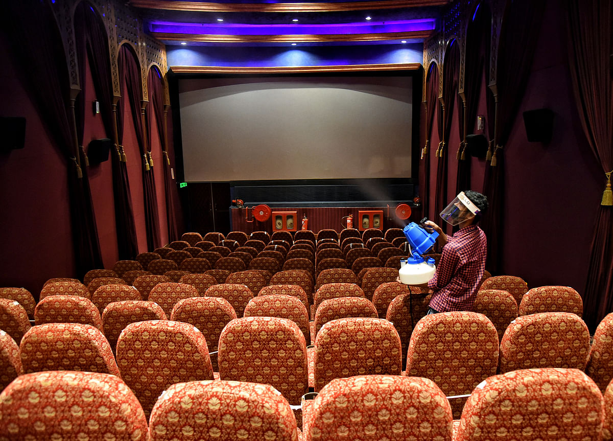 Cinema halls, multiplexes permitted to function with 25% capacity