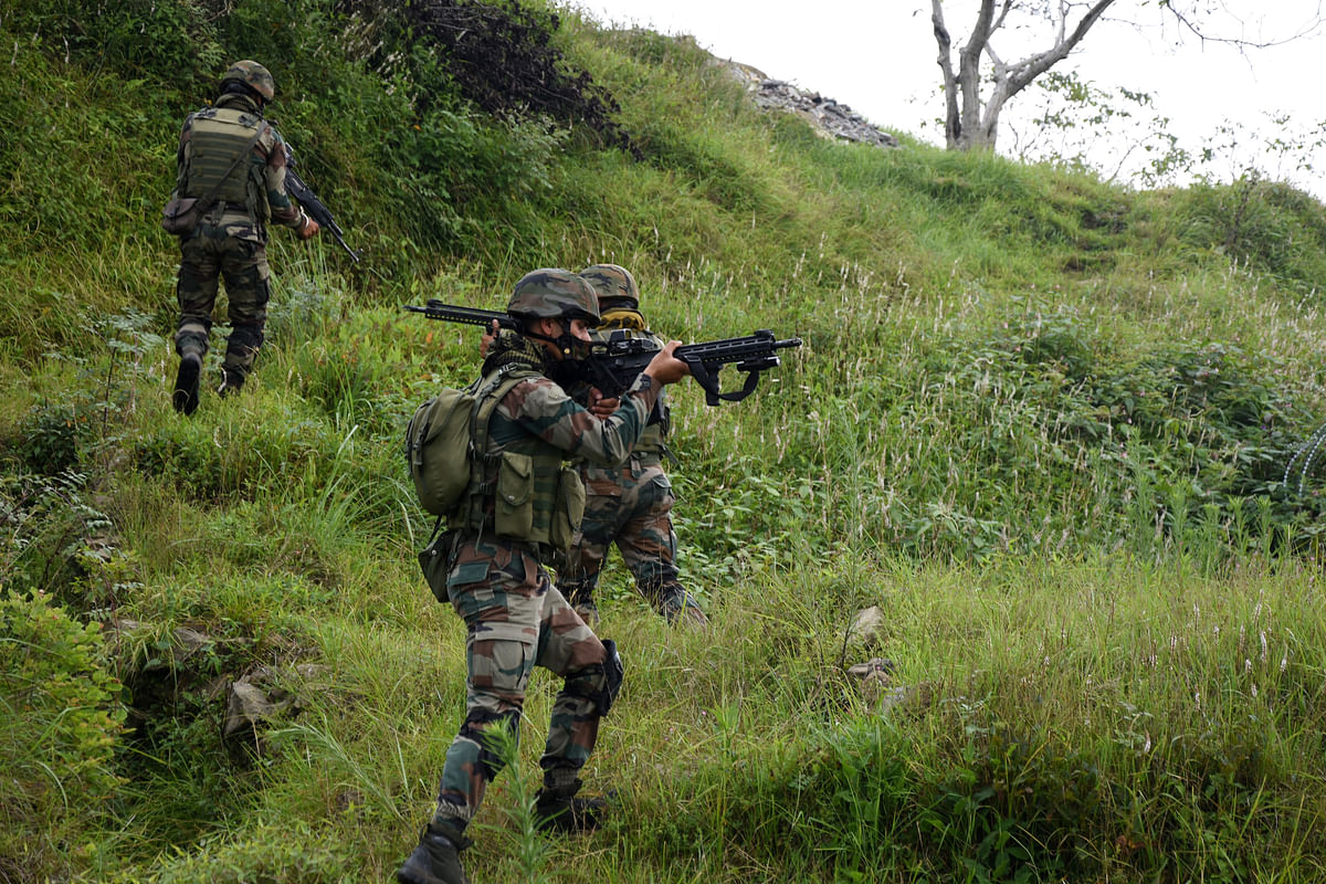 Fresh contact established as Poonch anti-militant operation enters day 12
