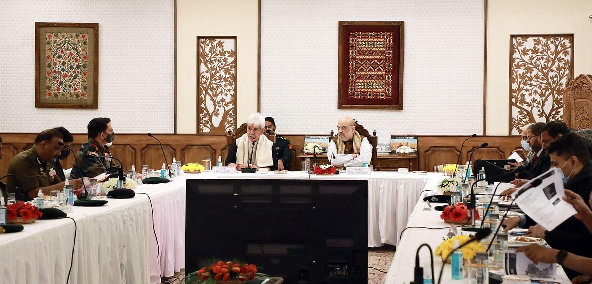 HM's security review meet | Radicalization, encounters,  civilian killings dominate agenda