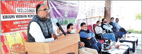 Awareness programme on aromatic, medicinal plant cultivation held