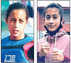 Shah siblings fighting it out to make it big in martial arts