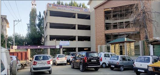 Multi-level car parking at erstwhile SMG awaits inauguration