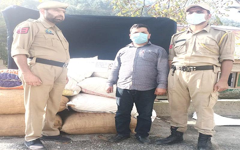 Police foils smuggling bid in Ganderbal