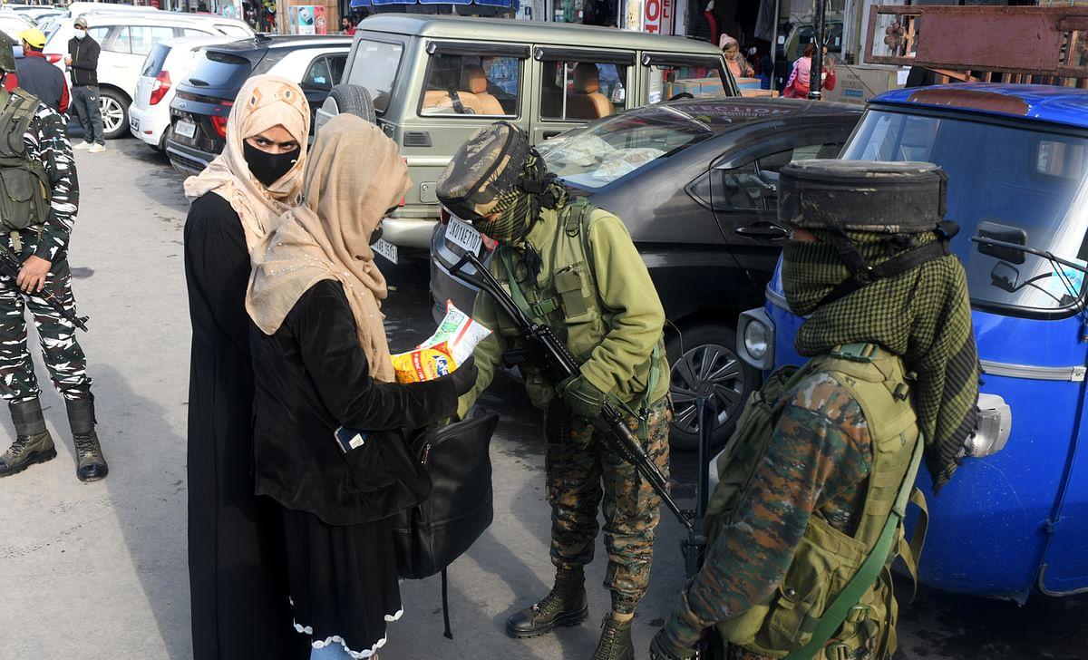 Stringent security measures put in place across Kashmir